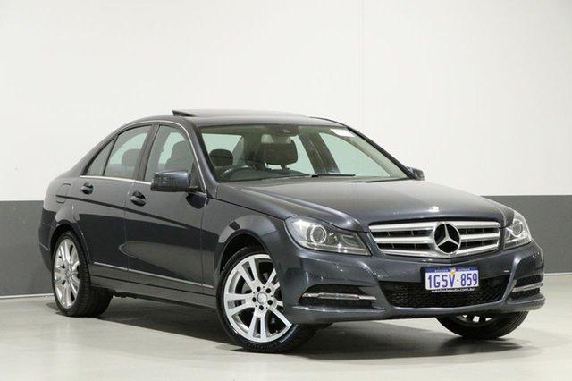 Used Mercedes-Benz C250 W204 MY14 Avantgarde, 2013 Mercedes-Benz C250 W204 MY14 Avantgarde Tenorite Grey 7 Speed Automatic G-Tronic Sedan