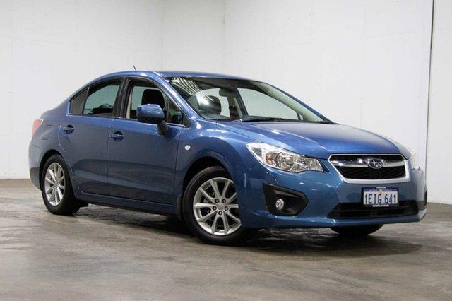 Used Subaru Impreza G4 MY13 2.0i-L Lineartronic AWD, 2013 Subaru Impreza G4 MY13 2.0i-L Lineartronic AWD Blue 6 Speed Constant Variable Sedan