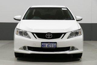 2017 Toyota Aurion GSV50R MY16 AT-X White 6 Speed Automatic Sedan.