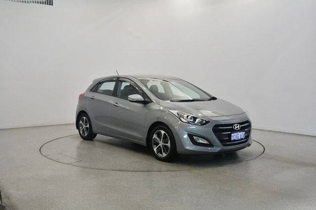 Used Hyundai i30 GD3 Series II MY16 Active X DCT, 2015 Hyundai i30 GD3 Series II MY16 Active X DCT Silver 7 Speed Sports Automatic Dual Clutch