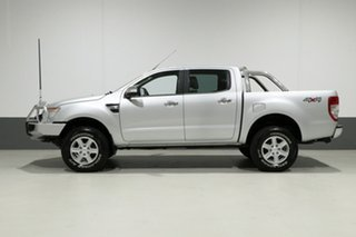 2011 Ford Ranger PX XLT 3.2 (4x4) Silver 6 Speed Manual Dual Cab Utility