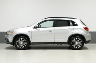2018 Mitsubishi ASX XC MY18 LS (2WD) Silver Continuous Variable Wagon