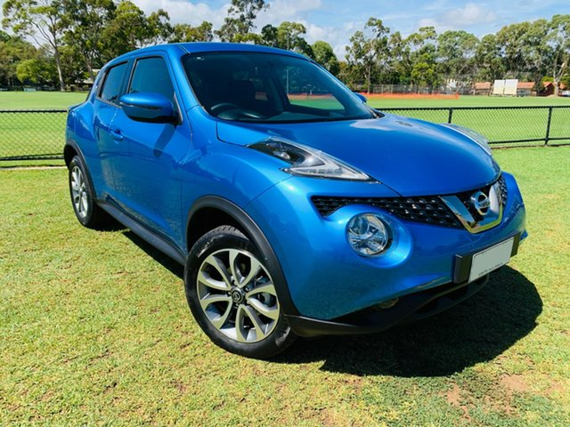 Demo Nissan Juke F15 MY18 ST 2WD, 2018 Nissan Juke F15 MY18 ST 2WD Vivid Blue 6 Speed Manual Hatchback
