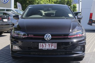 2018 Volkswagen Polo AW MY18 GTI DSG Deep Black Pearl Effect 6 Speed Sports Automatic Dual Clutch