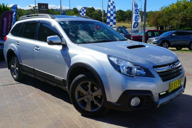 Used Subaru Outback B5A MY14 2.0D Lineartronic AWD Premium, 2013 Subaru Outback B5A MY14 2.0D Lineartronic AWD Premium Grey 7 Speed Constant Variable Wagon