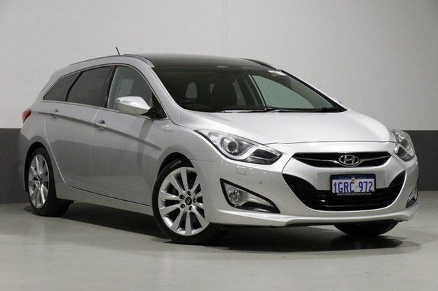 Used Hyundai i40 VF Premium, 2011 Hyundai i40 VF Premium Silver 6 Speed Automatic Wagon