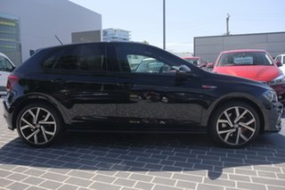 2018 Volkswagen Polo AW MY18 GTI DSG Deep Black Pearl Effect 6 Speed Sports Automatic Dual Clutch.