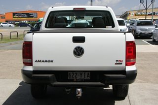 2017 Volkswagen Amarok 2H MY17 TDI400 4MOT Core White 6 Speed Manual Utility