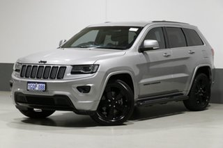 2014 Jeep Grand Cherokee WK MY15 Blackhawk (4x4) Grey 8 Speed Automatic Wagon.