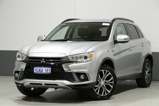 2018 Mitsubishi ASX XC MY18 LS (2WD) Silver Continuous Variable Wagon.