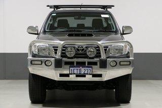 2015 Toyota Hilux KUN26R MY14 SR5 (4x4) Grey 5 Speed Automatic Dual Cab Pick-up.