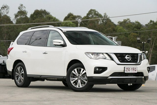 Demo Nissan Pathfinder R52 Series II MY17 ST-L X-tronic 4WD, 2018 Nissan Pathfinder R52 Series II MY17 ST-L X-tronic 4WD Ivory Pearl 1 Speed Constant Variable