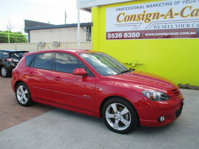 Used Mazda 3 BK1031 SP23, 2004 Mazda 3 BK1031 SP23 Red 5 Speed Manual Hatchback