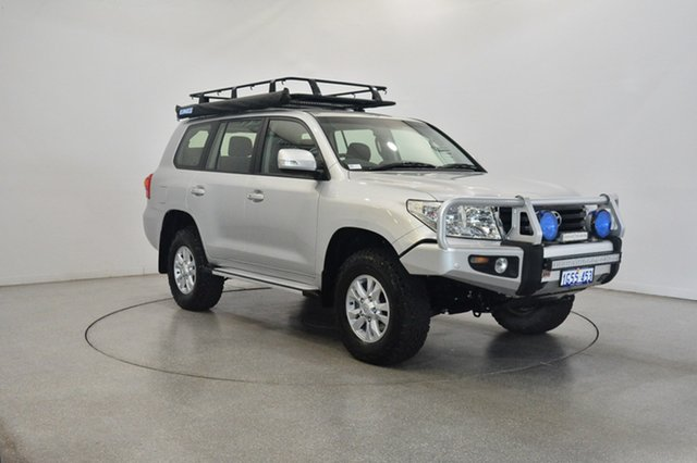 Used Toyota Landcruiser VDJ200R MY12 GXL, 2012 Toyota Landcruiser VDJ200R MY12 GXL Silver 6 Speed Sports Automatic Wagon