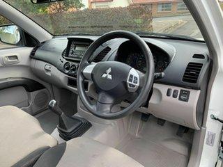 2012 Mitsubishi Triton MN GLX White 5 Speed Manual Utility