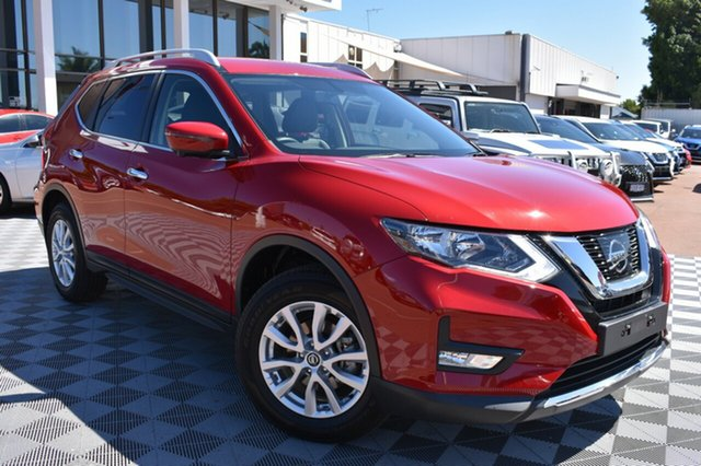Used Nissan X-Trail T32 Series II ST-L X-tronic 2WD, 2018 Nissan X-Trail T32 Series II ST-L X-tronic 2WD Red 7 Speed Constant Variable Wagon