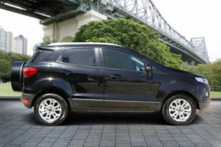 2013 Ford Ecosport BK Titanium PwrShift Black 6 Speed Sports Automatic Dual Clutch Wagon.