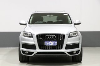 2014 Audi Q7 MY15 3.0 TDI Quattro Silver 8 Speed Automatic Tiptronic Wagon.