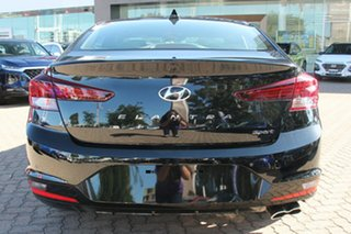 2018 Hyundai Elantra AD.2 MY19 Sport DCT Phantom Black 7 Speed Sports Automatic Dual Clutch Sedan