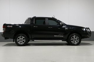 2016 Ford Ranger PX MkII Wildtrak 3.2 (4x4) Black 6 Speed Automatic Dual Cab Pick-up