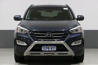 2012 Hyundai Santa Fe DM Active CRDi (4x4) Blue 6 Speed Automatic Wagon.