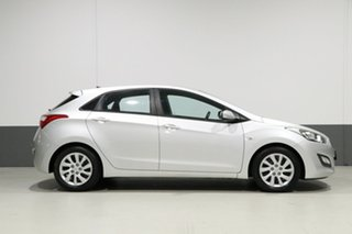 2013 Hyundai i30 GD Active Silver 6 Speed Automatic Hatchback