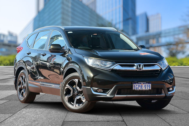 Used Honda CR-V RW MY18 VTi-L FWD, 2018 Honda CR-V RW MY18 VTi-L FWD Midnight Forest 1 Speed Constant Variable Wagon