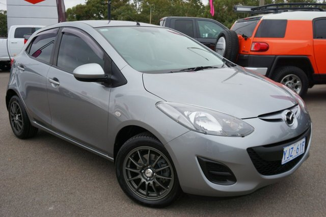 Used Mazda 2 DE10Y2 MY13 Neo, 2013 Mazda 2 DE10Y2 MY13 Neo Silver 5 Speed Manual Hatchback