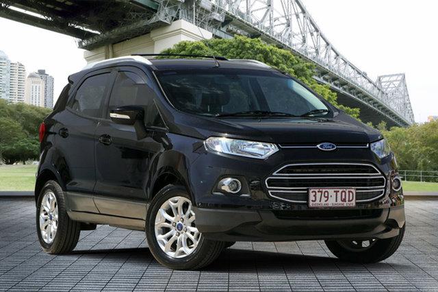 Used Ford Ecosport BK Titanium PwrShift, 2013 Ford Ecosport BK Titanium PwrShift Black 6 Speed Sports Automatic Dual Clutch Wagon