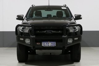 2016 Ford Ranger PX MkII Wildtrak 3.2 (4x4) Black 6 Speed Automatic Dual Cab Pick-up.
