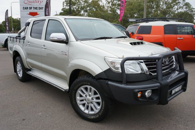 Used Toyota Hilux KUN26R MY14 SR5 Double Cab, 2014 Toyota Hilux KUN26R MY14 SR5 Double Cab Silver 5 Speed Manual Utility