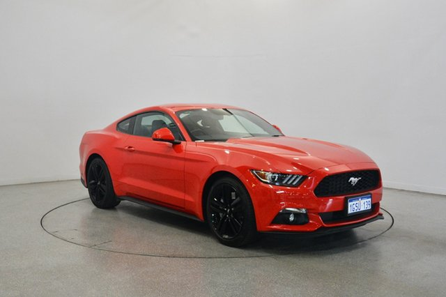 Used Ford Mustang FM 2017MY Fastback SelectShift, 2017 Ford Mustang FM 2017MY Fastback SelectShift Red 6 Speed Sports Automatic Fastback
