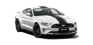 2018 Ford Mustang FN 2019MY GT Fastback SelectShift RWD Oxford White 10 Speed Sports Automatic