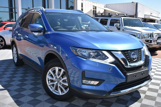Used Nissan X-Trail T32 Series II ST-L X-tronic 2WD, 2018 Nissan X-Trail T32 Series II ST-L X-tronic 2WD Blue 7 Speed Constant Variable Wagon