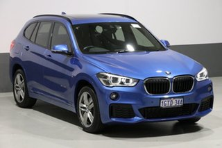 2016 BMW X1 F48 MY17 sDrive 20I Blue 8 Speed Automatic Wagon
