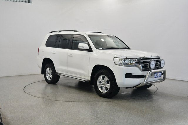 Used Toyota Landcruiser VDJ200R GXL, 2016 Toyota Landcruiser VDJ200R GXL White 6 Speed Sports Automatic Wagon