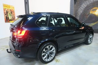 2014 BMW X5 F15 xDrive30d Black 8 Speed Sports Automatic Wagon