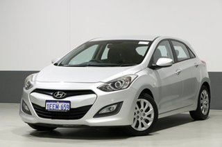 2013 Hyundai i30 GD Active Silver 6 Speed Automatic Hatchback.
