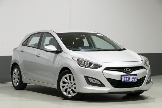 Used Hyundai i30 GD Active, 2013 Hyundai i30 GD Active Silver 6 Speed Automatic Hatchback
