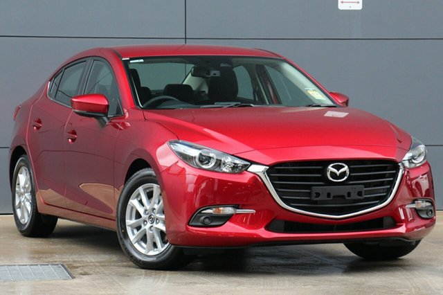 New Mazda 3 BN5278 Maxx SKYACTIV-Drive Sport, 2019 Mazda 3 BN5278 Maxx SKYACTIV-Drive Sport Soul Red Crystal 6 Speed Sports Automatic Sedan