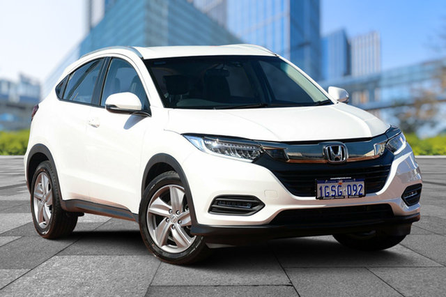Demo Honda HR-V MY19 +Luxe, 2019 Honda HR-V MY19 +LUXE White Orchid 1 Speed Constant Variable Hatchback
