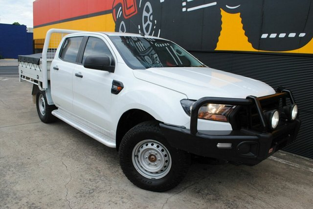 Used Ford Ranger PX MkII XL Double Cab, 2016 Ford Ranger PX MkII XL Double Cab Cool White 6 Speed Sports Automatic Cab Chassis
