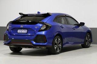 2017 Honda Civic MY17 VTi-L Blue Continuous Variable Hatchback