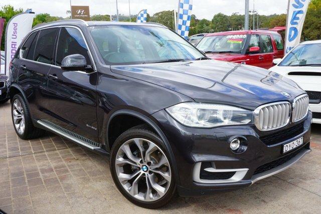 Used BMW X5 F15 xDrive30d, 2014 BMW X5 F15 xDrive30d Sophisto Grey 8 Speed Sports Automatic Wagon