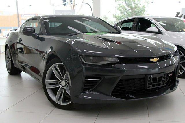 New Chevrolet Camaro MY18 2SS, 2018 Chevrolet Camaro MY18 2SS Nightfall Grey 8 Speed Sports Automatic Coupe