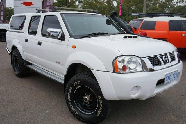 Used Nissan Navara D22 S5 ST-R, 2014 Nissan Navara D22 S5 ST-R Polar White 5 Speed Manual Utility