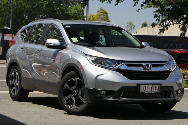 New Honda CR-V RW MY19 VTi-E FWD, 2018 Honda CR-V RW MY19 VTi-E FWD Lunar Silver 1 Speed Constant Variable Wagon