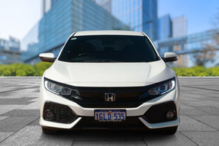 2017 Honda Civic 10th Gen MY17 VTi-L White Orchid 1 Speed Constant Variable Hatchback