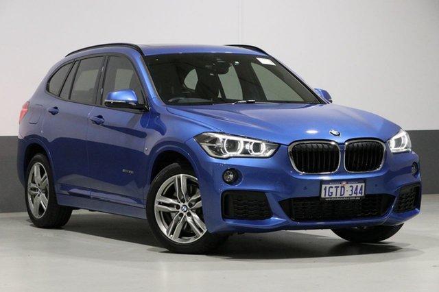 Used BMW X1 F48 MY17 sDrive 20I, 2016 BMW X1 F48 MY17 sDrive 20I Blue 8 Speed Automatic Wagon