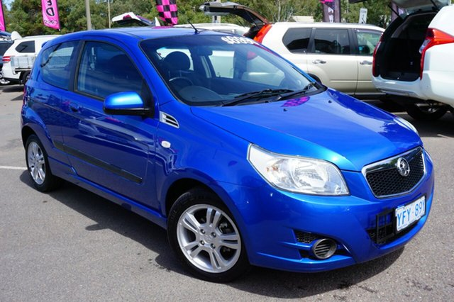 Used Holden Barina TK MY10 , 2010 Holden Barina TK MY10 Blue 5 Speed Manual Hatchback